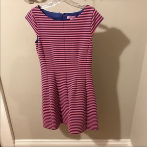 Coral/Pink and Navy Lily Pulitzer Dress